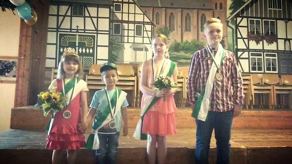 Unser Kinderkönigspaare 2015